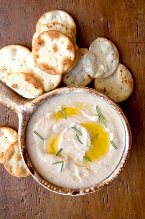 Spicy White Bean Dip | Never Enough Thyme - Recipes and food photographs with a slight southern accent.