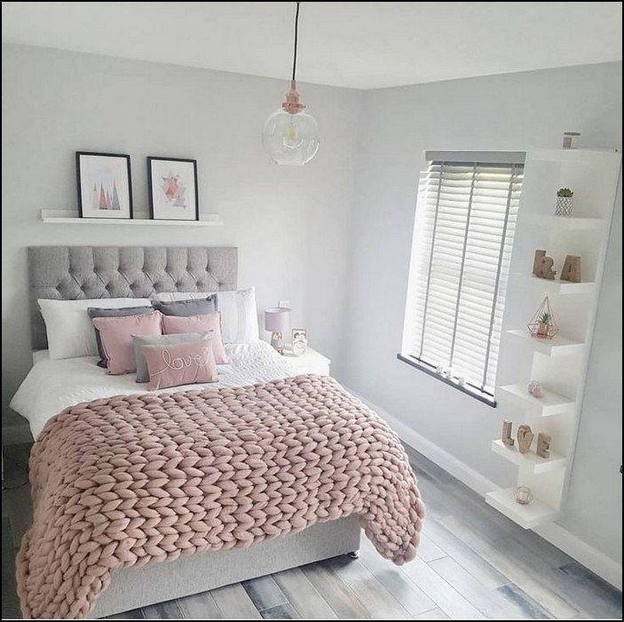 Bedroom Color Ideas Inspiration In 2019: 89+ Recommended Small Bedroom Ideas To Get A Spacious Look