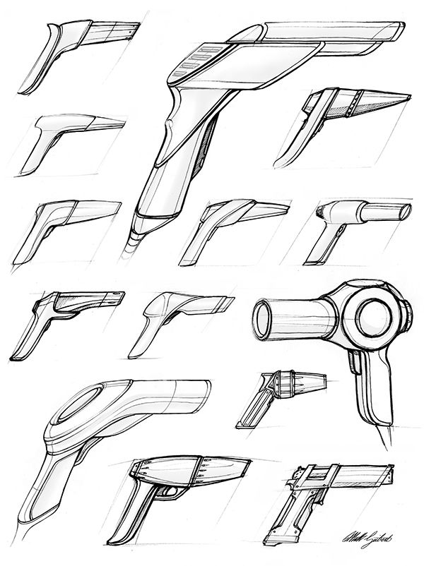 Blow Dryers - Design Sketchbook II on Behance