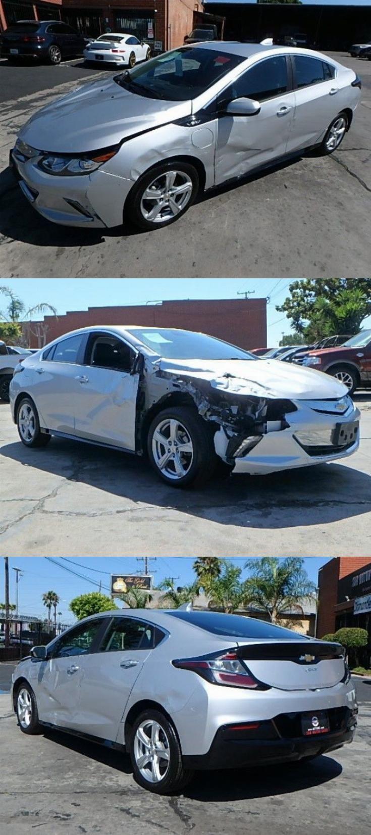 Low Miles 2018 Chevrolet Volt Lt Repairable Chevrolet Volt