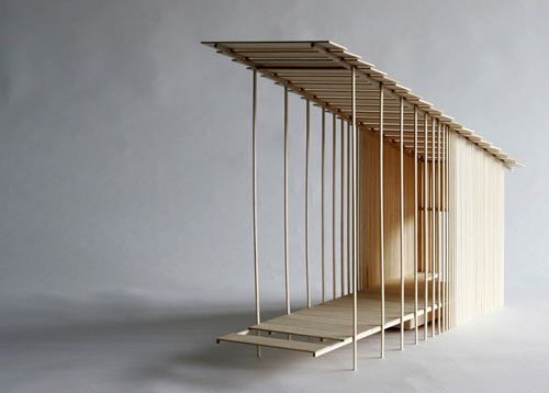 Tea house - Wow.: Arches Models, Architecture Drawings Models, Lakes Houses, Houses Ideas, Architecture Building, Cool Ideas, Architecture Ideas, Teas Houses, Architecture Models