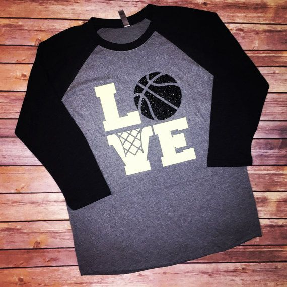 Basketball mom shirts basketball shirt love by LuluLaines on Etsy