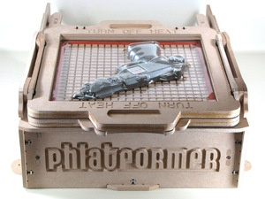 The Phlatformer - How to build a vacuum forming machine for modelers, prototyping, etc.