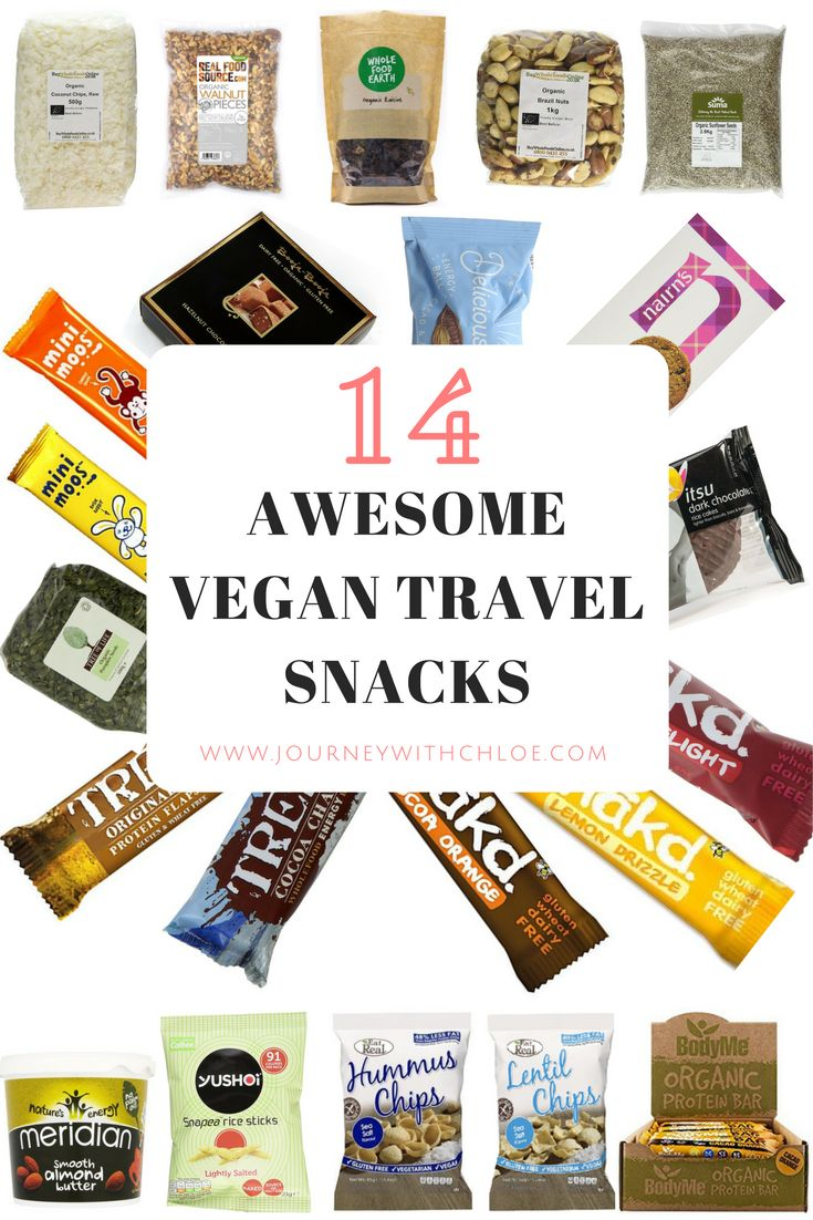 Travelling as a gluten-free vegan is difficult. Thankfully, more and more snacks without dairy or gluten are popping up. Read more for 14 awesome vegan travel snacks!