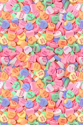 candy hearts | Wallpapers | Pinterest | Charms, Mondays ...