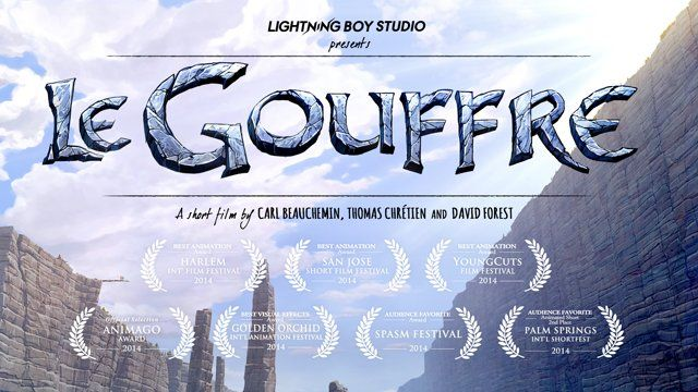 "An inspiring tale about friendship, sacrifice and conquering the impossible.  www.legouffre.com  Interested in supporting us and our next projects? Here's how you can help! http://legouffre.com/support/  Curious about how we made the film? Watch our Making-Of, ""the Journey Behind Le Gouffre""! https://vimeo.com/118472904  - ABOUT THE FILM -  Le Gouffre is the first animated short film produced and directed by Lightning Boy Studio, a young creative team based in Montreal.  The film tells…"