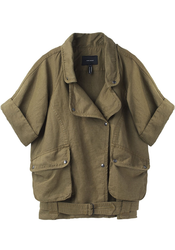 Isabel Marant Ulyse Jacket, Loving this what a great shirt with so many options. WOW