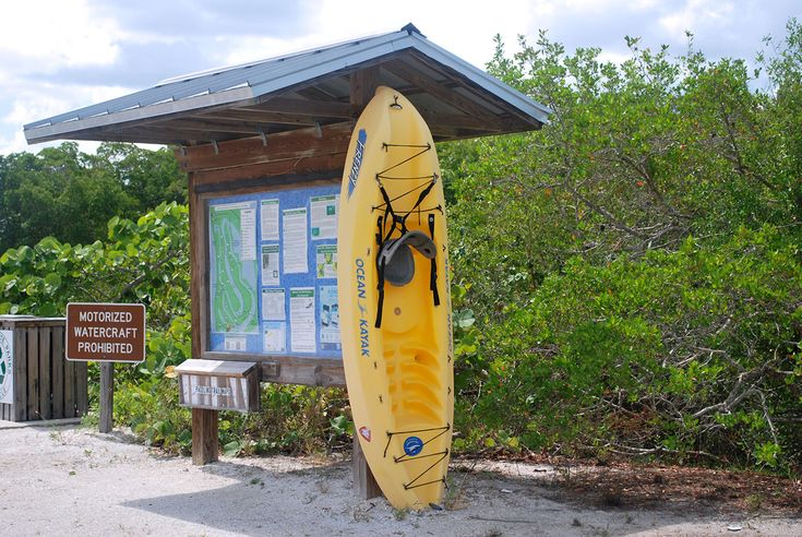 Canoe & Kayak rentals in Fort Myers Beach The best place to Kayak in Florida Kayakers from near and far agree that kayaking the estuary in Lovers Key is the best place for a paddle in all of Florida. The mangrove protected estuary is 2 and a