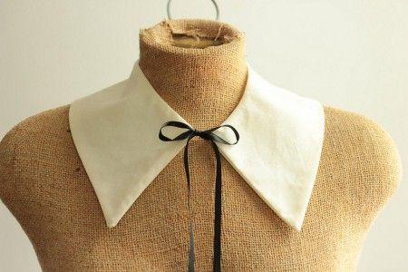 DIY peter pan collar