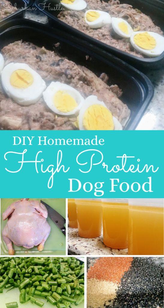 DIY Homemade High Protein Dog Food