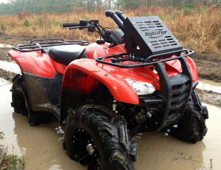 Honda Rancher 420 07 14 Radiator Relocation Snorkel