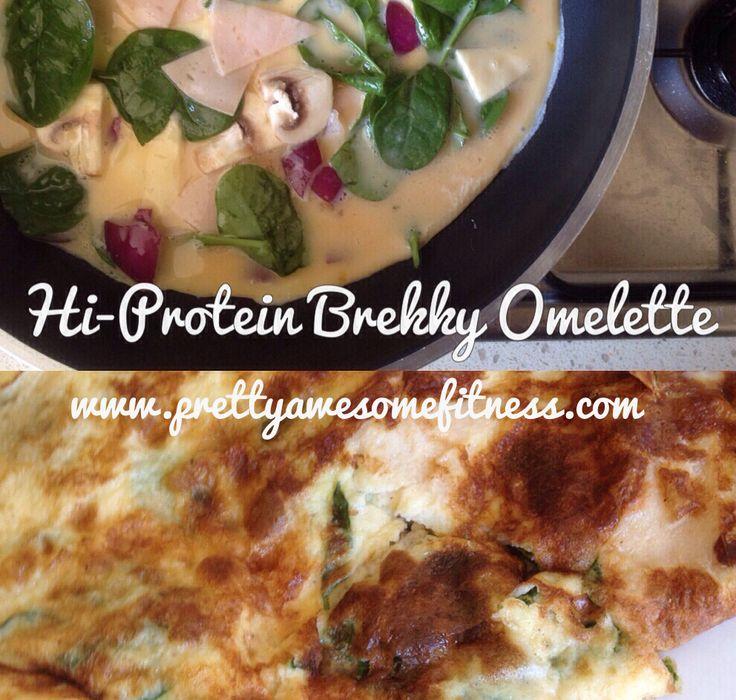 36 grams of protein in one dish. www.prettyawesomefitness.com