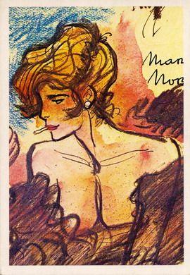 Archives Hugo Pratt - Cartes postales
