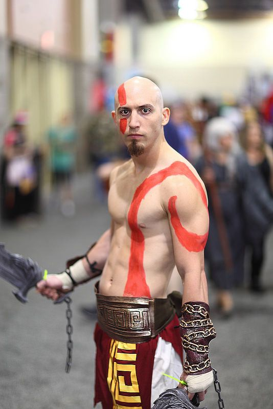 "Kratos from the ""God of War"" Playstation game series 2014 Phoenix Comicon (PCC)"