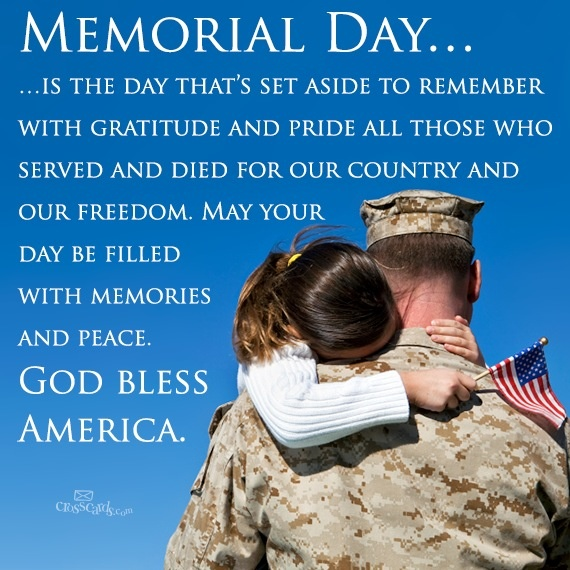 Memorial Day... I For One Am Someone Who Knows All To Well