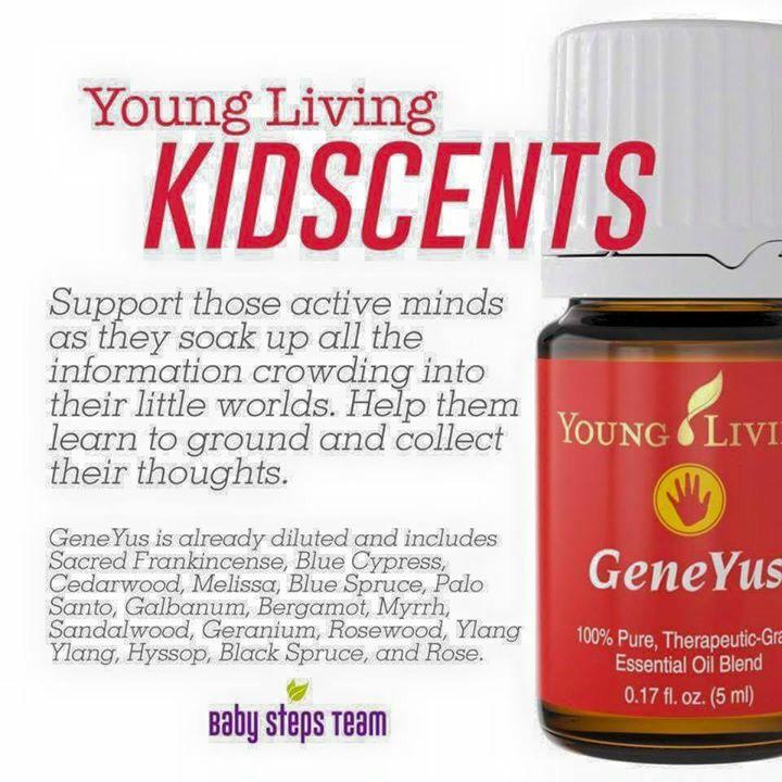 Kidscents Essential Oils. Geneyus.