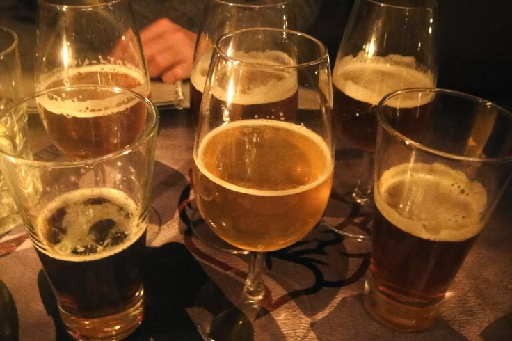 Beer tasting at Saints Burger Joint- 6 beers for R30!