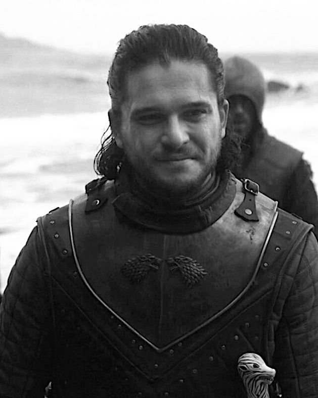 Jon Snow - the knower of nothing, the stark bastard, the lover of wildlings, the slayer of white walkers, the king in the north!