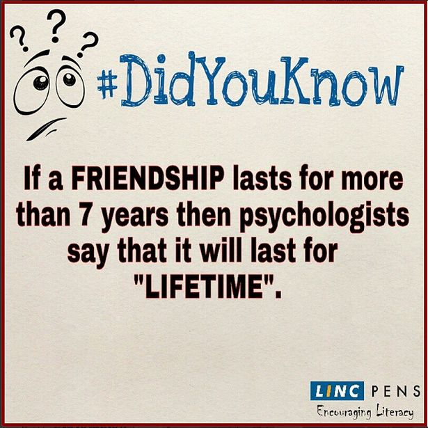 #friendship #lasts #7 #years #psychologist #life #lifetime #DidYouKnow