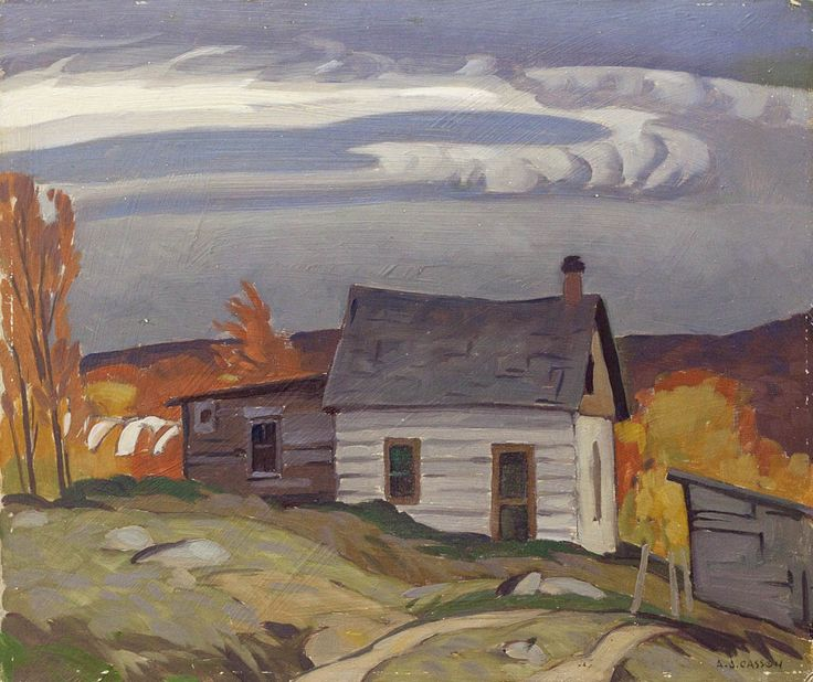 Alfred Joseph Casson, 'Lumberman's Cabin Near Whitney' at Mayberry Fine Art