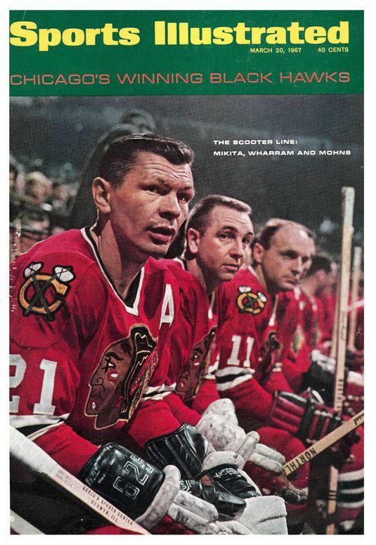 March 20, 1967 Stan Mikita Chicago Blackhawks Sports Illustrated  #Magazine