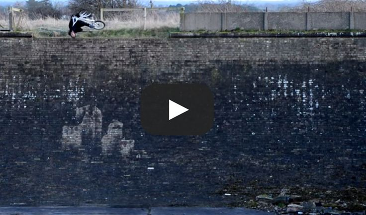 RYAN TAYLOR'S behind the scenes of his INFAMOUS Flair Drop-In at the abandoned reservoir BMX Video!!! WOW!