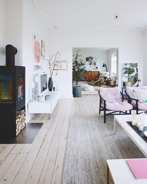 En bolig fyldt med gode ideer - Bolig Magasinet Mobil. Lilac chaurs.