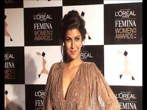 Nimrat Kaur @ Femina Women Awards 2014.