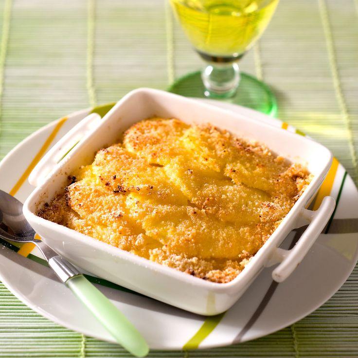 Découvrez la recette du gratin d'ananas frais