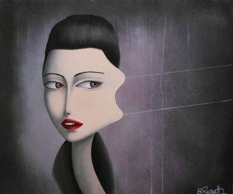 Finding Beauty (2013) Acrylique sur toile, S.Renault