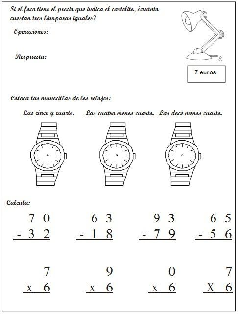 Cuaderno de Actividades Matemáticas 2º - Primer Ciclo de Primaria