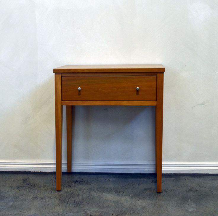 Newport one drawer bedside by Rose and Heather NZ