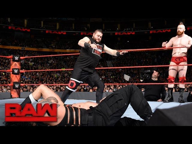 Roman Reigns & Kevin Owens vs. Cesaro & Sheamus: Raw, Nov. 14, 2016 #roman #reigns #kevin #owens #cesaro #sheamus