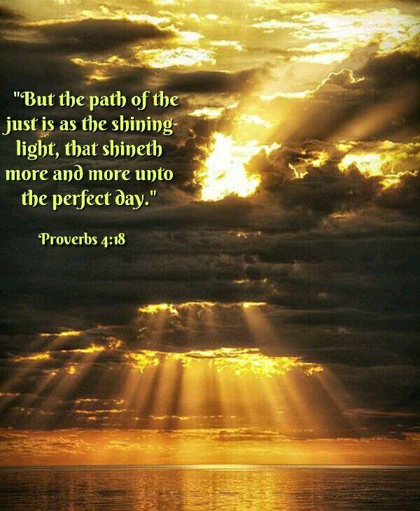 Proverbs 4:18 KJV | PROVERBS | Bible verses, Proverbs, Proverbs 4