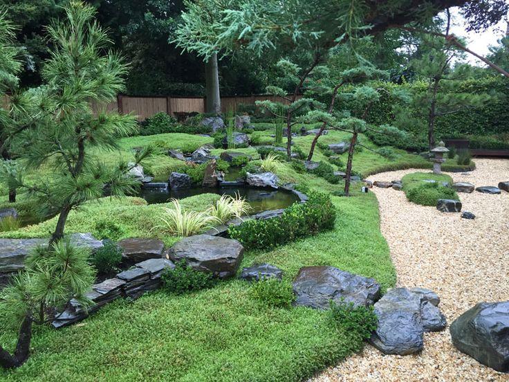 Japanse tuin in 's-Hertogenbosch. In 2015 aangelegd.