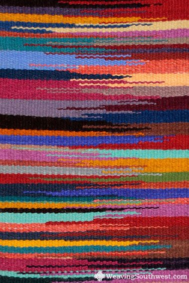 Your Daily Dose of Inspiration! Handwoven runner by Lorelei Loveless.