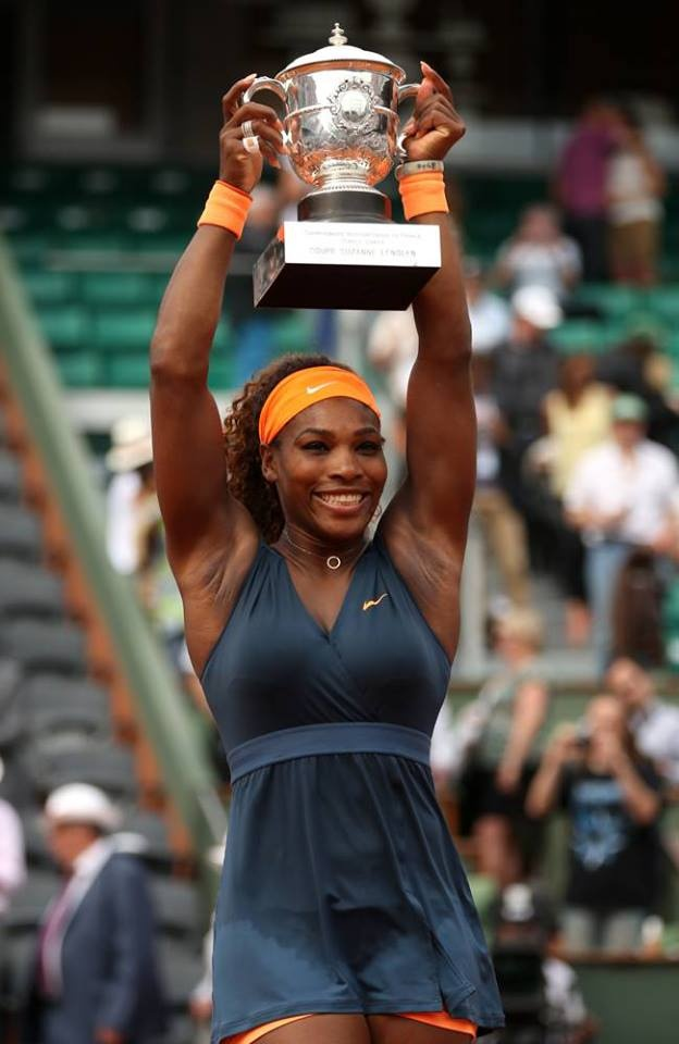 Twitter Salutes Serena's 2nd French Open Win!.... RT @Venuseswilliams Gone Serena gone! So inspiring! I was so nervous, lol #serenafrenchopenchampion2013 ---- RT @Andy. Congrats to my girl @Serena Williams  !!!    #legend --- RT @HSN Congratulations to HSN partner @Serena Williams on her French Open win! ---- RT @UNICEF Big congrats to our Goodwill Ambassador @Serena Williams for just winning her 2nd #FrenchOpen tennis title. Well done Serena!