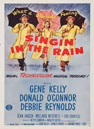 Chantons sous la pluie est un film musical américain de Stanley Donen et Gene Kelly, sorti en 1952. Don Lockwood et Lina Lemont forment le couple star du cinéma muet à Hollywood. Quand le premier film parlant sort, tous deux doivent s'accommoder et tournent leur premier film du genre. Si Don maîtrise l'exercice, la voix désagréable de Lina menace le duo. Kathy, une chanteuse, est engagée pour doubler la jeune femme mais celle-ci devient un obstacle entre Don...