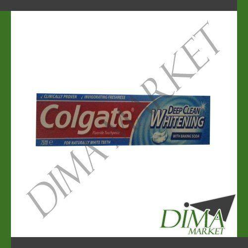 COLGATE WHITENING DEEP CLEAN 75ML CON BICARBONATO DI SODIO
