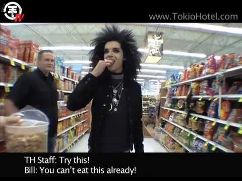 Tokio Hotel TV [Episode 41]: Shopping Madness with Bill! - YouTube