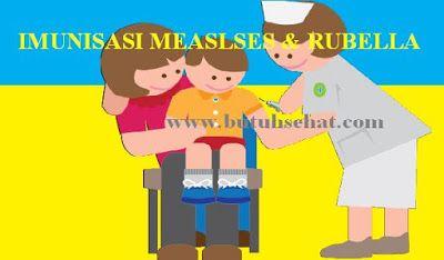 Campak merupakan penyakit yang sangat mudah menular yang disebabkan oleh virus dan ditularkan melalui batuk dan bersin. Rubella adalah penyakit akut dan ringan yang sering menginfeksi anak dan dewasa muda yang rentan.