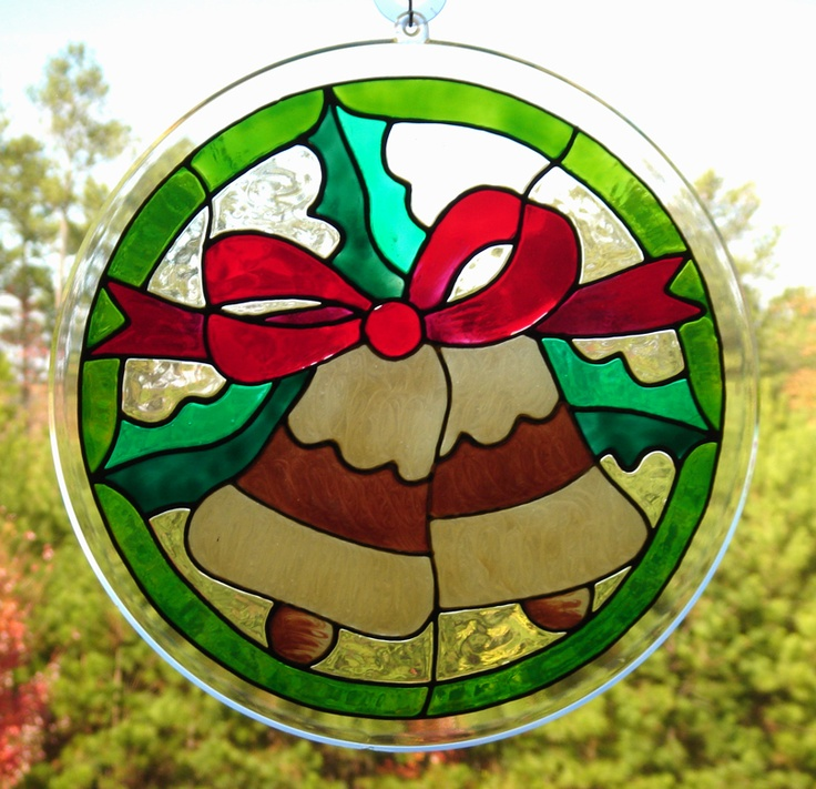 christmas stained glass window templates - 17 best images about stained glass xmas on pinterest