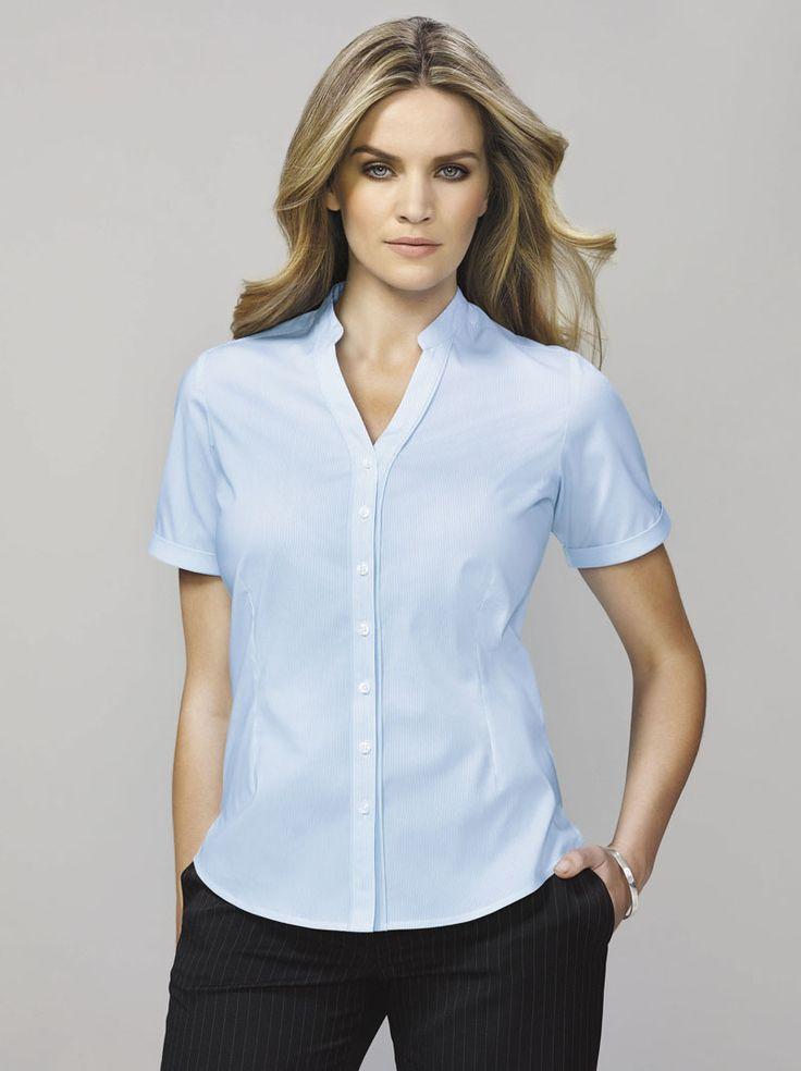 Bordeaux Short Sleeve Shirt #bizcorporates #boulevard #bordeaux #stripedshirt