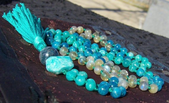 Amazonite Apatite Aqua Beads Blue Green Jewelry Labradorite