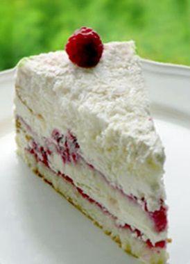 Frambuazlı Güllaç Pasta