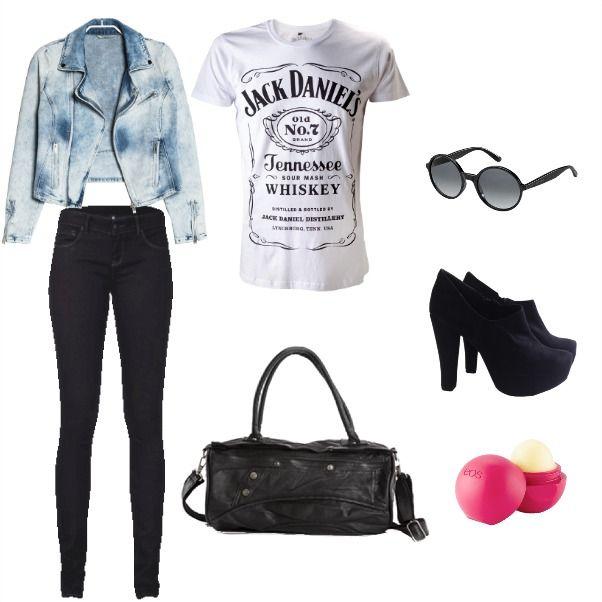 Outfit Jaquet Jean  Jaquet, jean, black en Colombia
