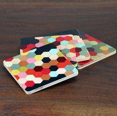 Honeycomb Coasters - Haus Interior