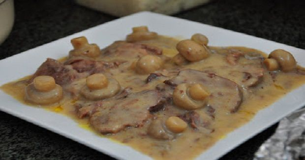 how to cook lengua with cream of mushroom