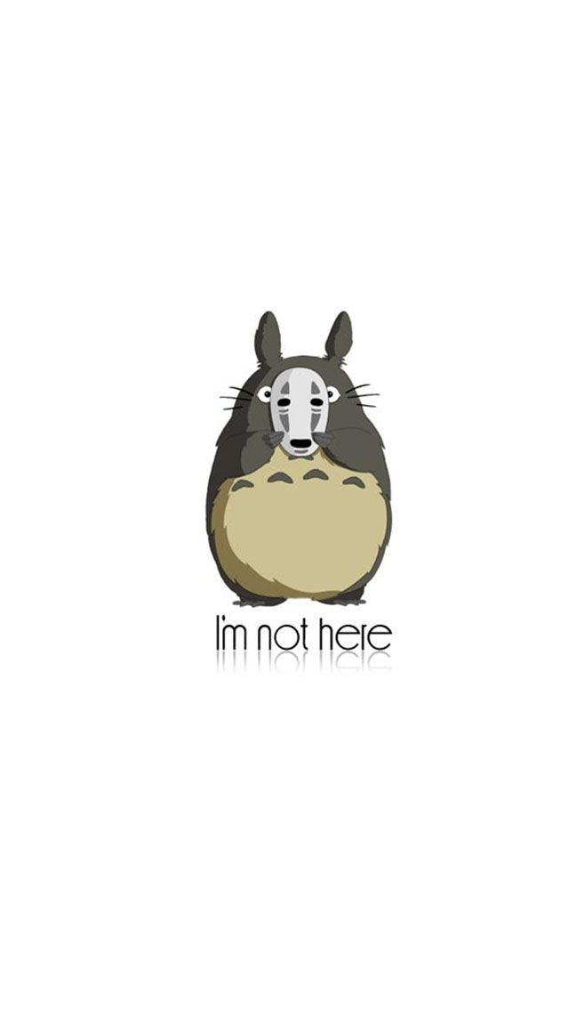 17 best images about phone wallpaper on pinterest - Totoro wallpaper iphone ...
