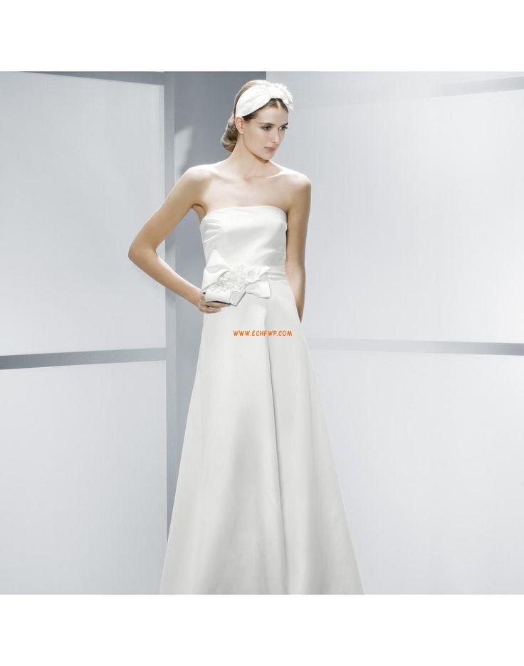 Eglise Longueur ras du sol Elégant & Luxueux Robes de mariée pas cher